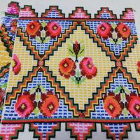ウクライナ刺繍布 15