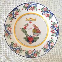 フォルミガ工房 型染めディナープレート:リバテージョ