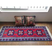 トルコ ドシェメアルトゥの手織り絨毯 オールド  ランナータイプ