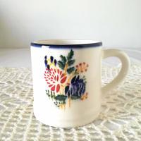 フォルミガ工房 型染めマグカップ:れんげ草