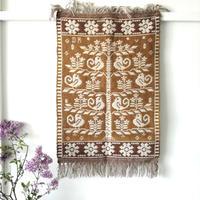 ヤノフ村の織物 タペストリー 生命の木(47×71cm)#2400
