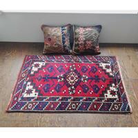 トルコ ドシェメアルトゥの手織り絨毯 オールド