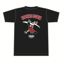 RISING DOWN Tシャツ [カラー:ブラック]