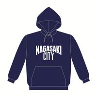 NAGASAKI CITY パーカー [カラー:ネイビー]