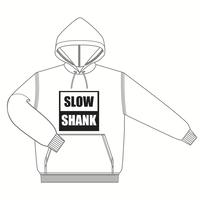SLOW パーカー [カラー:ホワイト]