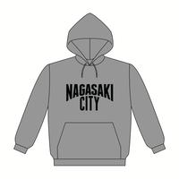 NAGASAKI CITY パーカー [カラー:グレー]