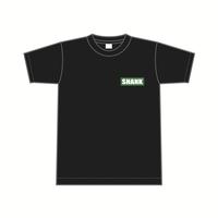 刺繍1P BOXロゴ Tシャツ [カラー:ブラック-グリーン]