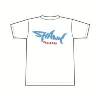 SHARKロゴ Tシャツ [カラー:ホワイト]