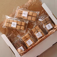 【ネコポス】キューブクッキー×6袋