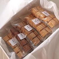 【ギフトBOX】キューブクッキー5袋