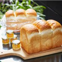 【2本+3個入】こだわり食パン2本+アピディス蜂蜜3個(各30g)