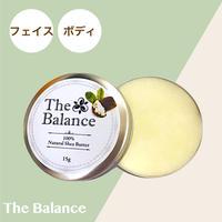 【生シアバター100%】ザバランス 無添加シアバター保湿クリーム15g