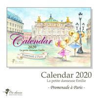 2020卓上カレンダー「エミリーはちいさなバレリーナ」Promenade a Paris