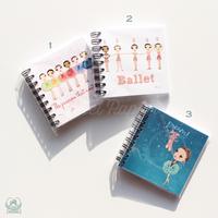 ミニノート Ballet Papier(本体価格:¥400)
