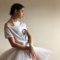 ルーズフィットTシャツ・BALANCE