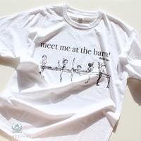 ユニセックスTシャツ・AT THE BARRE