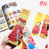 Olé Bookmarks・しおり(全5種・税込価格:¥ 518)