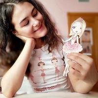 PAPER DOLLS SET・着せ替え人形セット(全3種)
