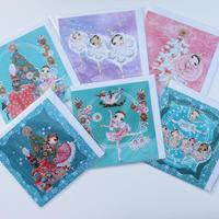 【予約販売】THE NUTCRACKER GREETING CARDS・クリスマスカード6種類セット