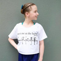 [予約商品] Tシャツ・AT THE BARRE CROPPED(RCTB1)