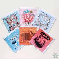 グリーティングカード 2018 Collection(全6種)