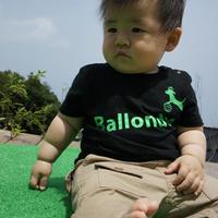 【在庫処分セール】BallondogKids ロゴTシャツ