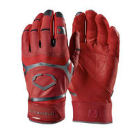 Evo XGT Batting Glove RED  (本革🐂)