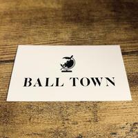 BALL TOWN ステッカー