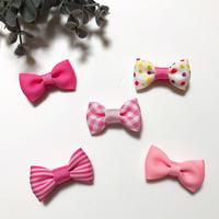 ヘビー&キッズヘアクリップ *5個セット(ピンク)