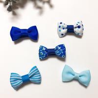 ヘビー&キッズヘアクリップ *5個セット(ブルー)