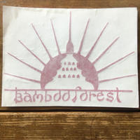 Bamboo Forestステッカー レッド