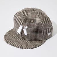 バ 9FIFTY CAP(BRN check)