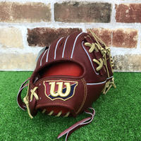 【限定】ウイルソン 硬式グローブ WBW100755(86型) 高校野球対応 ブリック 型付け無料