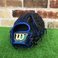 【Wilson】ウィルソン 軟式グローブ WTARHUD5M ブラックxブルー
