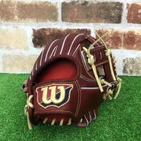 【限定】ウイルソン 硬式グローブ WBW100751(D5型) 高校野球対応 ブリック 型付け無料