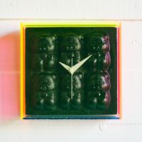 WALL CLOCK  SIX LITTLE PIGS
