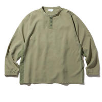 NYLON CHAMBRAY SHIRTS (OLIVE)