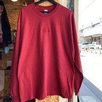 BNGRD L/S tee (Wine Red)