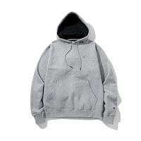 Champion / Power Blend Pullover Hoodie -Gray-