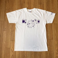 MC BATTLE tee(white)