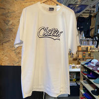 -PRILLMAL- Chillin'!!! S/S T-SHIRTS (white×navy)