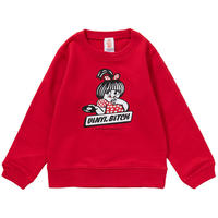 VINYL BITCH HOT WAX KIDS CREWNECK SWEAT (RED)