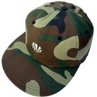 2月下旬 - BLACK SATIVA / NEWBALL CAP (Camo&White)