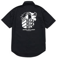 HOTEL CITY LIGHT WORK SHIRTS (BLACK)