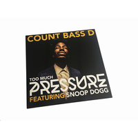 COUNT BASS D / TOO MUCH PRESSURE [12inch]