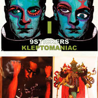 KLEPTOMANIAC / 9 STICKERS TYPE I