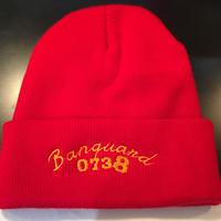 Banguard knit cap (red)