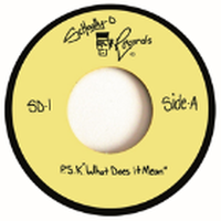 "SCHOOLLY D / P.S.K. ""WHAT DOES IT MEAN"" [7inch]"