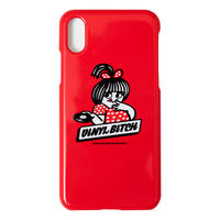 VINYL BITCH HOT WAX iPHONE CASE (RED)