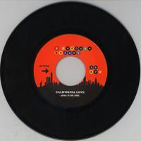 2PAC & DR DRE / RONNIE HUDSON / CALIFORNIA LOVE / WEST COAST POP LOCK [7INCH]